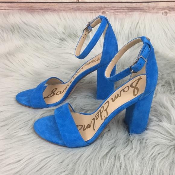 3b794dc4033 Sam Edelman Yaro Ankle Strap Sandal. M 5abf036850687c1f5b48979d